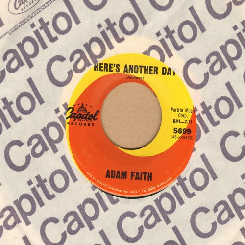 Faith, Adam - To Make A Big Man Cry/Here's Another Day (with Capitol company sleeve) - EX8/ - 45 rpm Records
