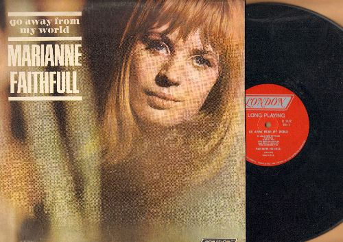 Faithfull, Marianne - Go Away From My World: Yesterday, Scarborough Fair, Lullabye, Summer Nights, Sally Free And Easy (Vinyl STEREO LP record) - VG6/VG6 - LP Records