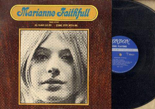Faithfull, Marianne - Marianne Faithfull: As Tears Go By, Come Stay With Me,If I Never Get To Love You (vinyl STEREO LP record) - NM9/EX8 - LP Records