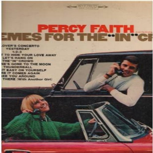 Faith, Percy - Themes From The In Crowd: A Lover's Concerto, Yesterday, 1-2-3, Thunderball, Make It Easy On Yourself (Vinyl STEREO LP record) - NM9/EX8 - LP Records