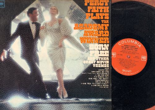 Faith, Percy - Percy Faith Plays The Academy Award Winner Born Free and other Great Movie Themes: Georgy Girl, Alfie, Song From The Oscar (viny MONO LP record) - NM9/NM9 - LP Records