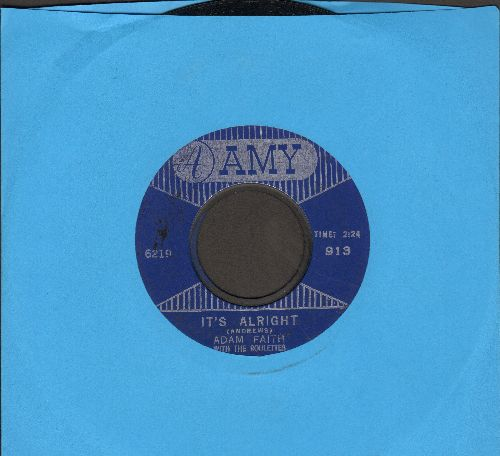 Faith, Adam - It's Alright/I Just Don't Know - VG7/ - 45 rpm Records