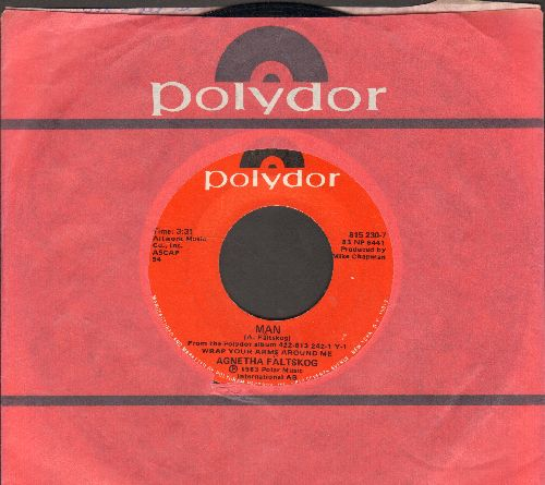 Faltskog, Agnetha - Man/Can't Shake Loose (with Polydor company sleeve) - NM9/ - 45 rpm Records