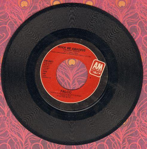 Falco - Rock Me Amadeus (4:08 minutes version + 3:10 minutes version) - EX8/ - 45 rpm Records