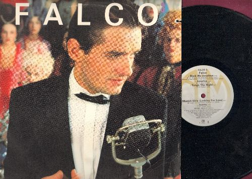 Falco - Flaco 3: Rock Me Amadeus, America, Jeanny, Vienna Calling, Macho Macho (vinyl LP record) - EX8/VG7 - LP Records
