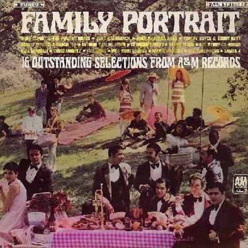 Alpert, Herb & The Tijuana Brass, Boyce & Hart, Claudine Longet, Sandpipers, Liza Minnelli, Chris Montez, others - Family Portrait - 16 Outstanding Selections From A&M Records: Fly Me To The Moon, The Debutante's Ball, Early In The Morning, I Say A Little