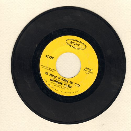 Fame, Georgie - The Ballad Of Bonnie & Clyde/Beware Of The Dog  - VG7/ - 45 rpm Records