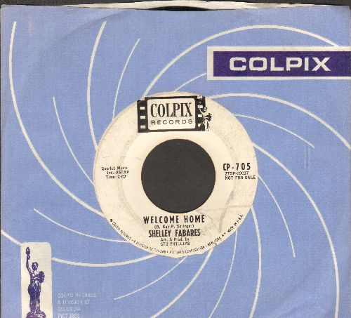 Fabares, Shelley - Welcome Home/Billy Boy (DJ advance pressing with RARE vintage Colpix company sleeve) - EX8/ - 45 rpm Records