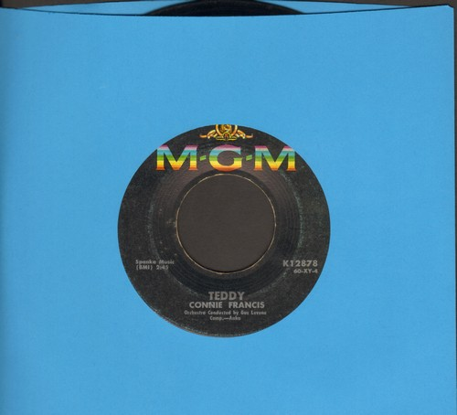 Francis, Connie - Teddy/Mama (Favorite for 'Mother's Day')  - EX8/ - 45 rpm Records