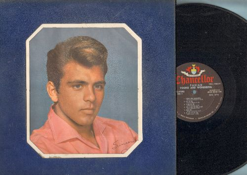 Fabian - Young And Wonderful: All Of Me, It Had To Be You, Deed I Di, Exactly Like You (vinyl MONO LP record, unique velvet cover) - EX8/EX8 - LP Records