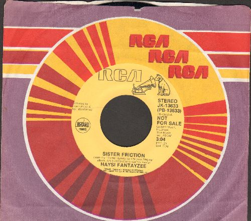 Haysi Fantayzee - Sister Friction (double-A-sided DJ advance pressing with RCA company sleeve) - NM9/ - 45 rpm Records