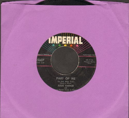 Farmer, Jules - Part Of Me/Love Me Now - VG7/ - 45 rpm Records
