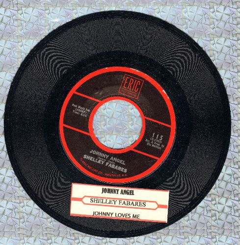 Fabares, Shelley - Johnny Angel/Johnny Loves Me (re-issue with juke box label) - EX8/ - 45 rpm Records