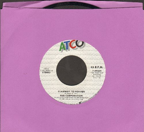 Far Corporation - Stairway To Heaven/Financial Controller - NM9/ - 45 rpm Records