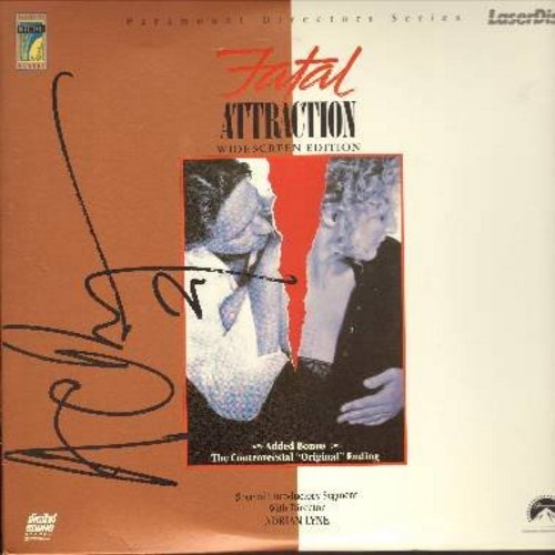 Fatal Attraction - Fatal Attraction - The Classic Drama starring Glen Close and Michael Douglas, includes BONUS Controversial Original Ending  (This is a set of 2 LASERDISCS, NOT ANY OTHER KIND OF MEDIA!) - NM9/NM9 - LaserDiscs
