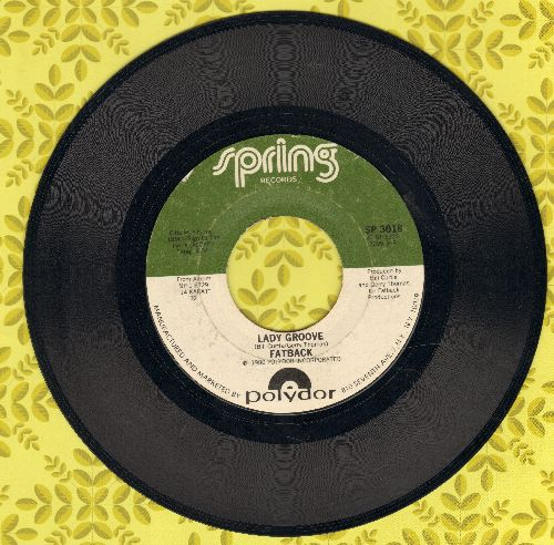 Fatback - Lady Groove/Take It Any Way You Want It - EX8/ - 45 rpm Records