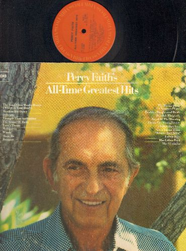 Faith, Percy - Percy Faith's All-Time Greatest Hits: Theme From A Summer Place, Song From Moulin Rouge, The Virginian, Swedish Rhapsody, Windy (2 vinyl STEREO LP record set) - EX8/EX8 - LP Records