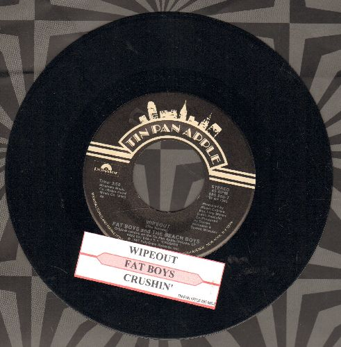 Fat Boys & Beach Boys - Wipe Out!/Cruisin' (with juke box label) - NM9/ - 45 rpm Records