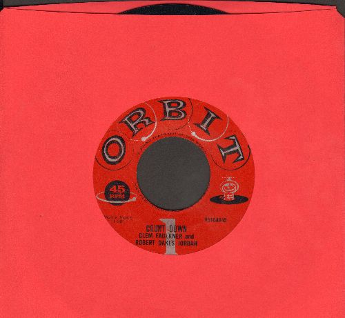 Faulkner, Clem & Robert Oakes Jordan - Count Down/Russian Count Down (Hilarious Cold War Novelty two-sider!) - EX8/ - 45 rpm Records