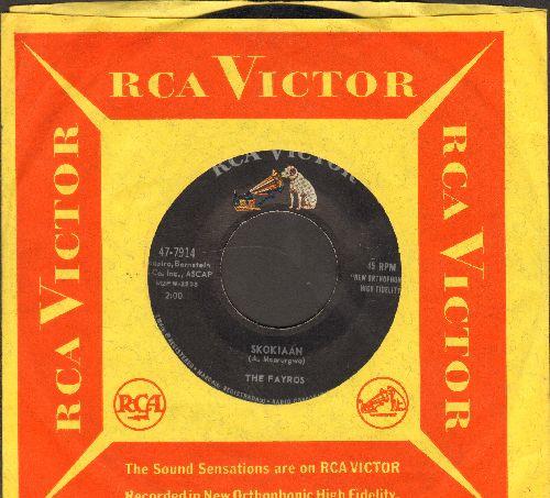 Fayros - Skokiaan/Boot Heel Rag (with vintage RCA company sleeve) - EX8/ - 45 rpm Records