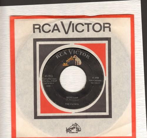 Fayros - Skokiaan/Boot Heel Rag (with vintage RCA company sleeve) - VG6/ - 45 rpm Records