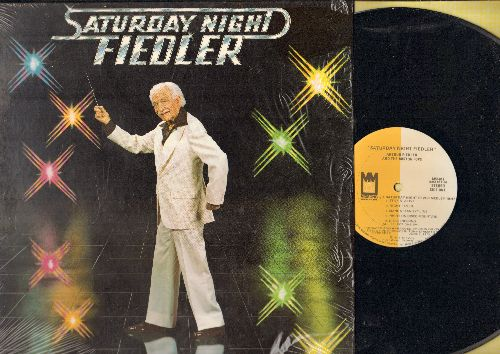 Fiedler, Arthur & The Boston Pops - Saturday Night Fiedler: Stayin Alive, Night Fever, Disco Inferno (Vinyl STEREO LP record) - NM9/NM9 - LP Records