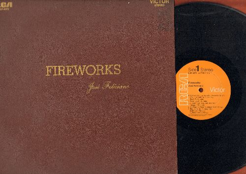Feliciano, Jose - Fireworks: (I Can't Get No) Satisfaction, Norwegian Wood, Yesterday, Let It Be, Susie-Q (Vinyl STEREO LP record - NM9/EX8 - LP Records