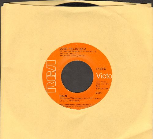 Feliciano, Jose - Rain/She's A Woman - EX8/ - 45 rpm Records