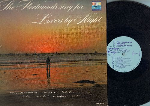 Fleetwoods - The Fleetwoods Sing For Lovers By Night: Goodnight My Love, Pledging My Love, Let It Be Me (Vinyl MONO LP record, light blue label early pressing) - NM9/VG7 - LP Records