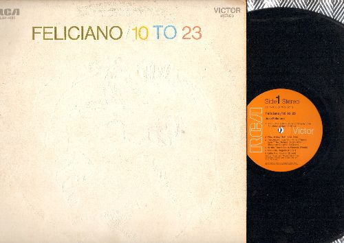 Feliciano, Jose - Feliciano/10 to 23: Amor Jibaro, By The Time You Get To Phoenix, Hey Jude, Miss Otis Regrets (Vinyl STEREO LP record) - NM9/VG7 - LP Records
