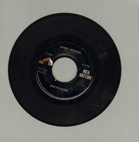 Feliciano, Jose - Hi-Heel Sneakers/Hitchcock Rainway - EX8/ - 45 rpm Records