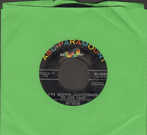 Feller, Sid & His Orchestra & Chorus - I've Grown Accustomed To Her Face/Midnight Breeze - VG7/ - 45 rpm Records