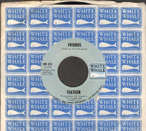 Feather - Friends/Salli (with White Whale company sleeve) - NM9/ - 45 rpm Records