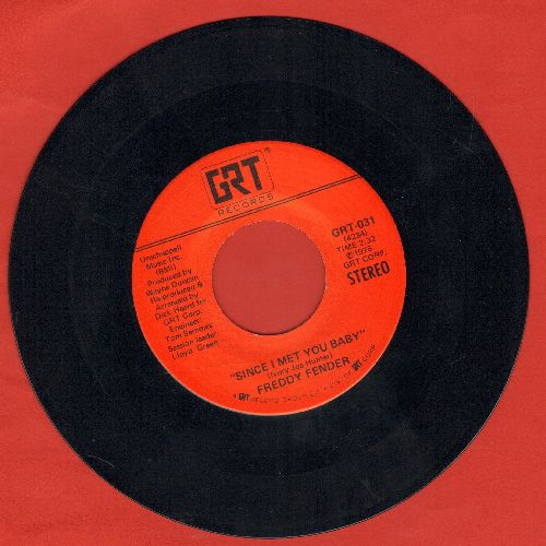 Fender, Freddy - Since I Met You Baby/Little Mama - EX8/ - 45 rpm Records