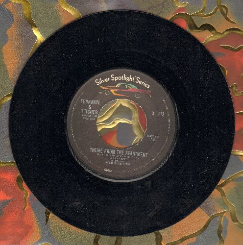 Ferrante & Teicher - Theme From The Apartment/Midnight Cowboy (early double-hit re-issue) - NM9/ - 45 rpm Records