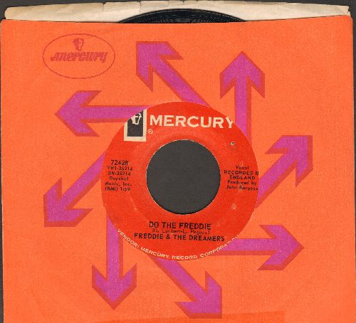 Freddie & The Dreamers - Do The Freddie/Tell Me When (with Mercury company sleeve) - NM9/ - 45 rpm Records