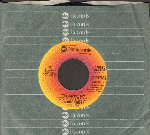 Fender, Freddy - My Happiness/Vaya Con Dios (with company sleeve) - EX8/ - 45 rpm Records