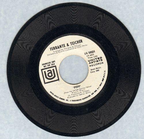 Ferrante & Teicher - Popi/Midnight Cowboy (DJ advance pressing) - NM9/ - 45 rpm Records