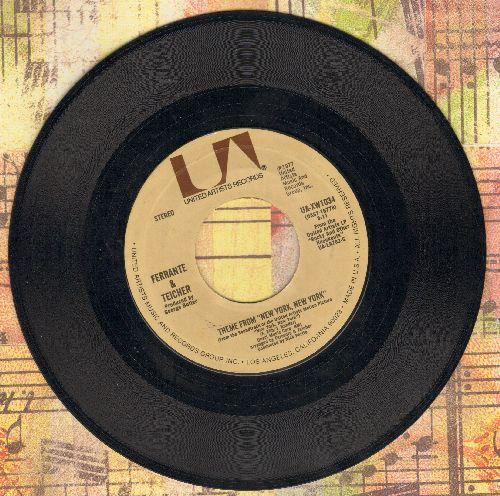 Ferrante & Teicher - Theme From -New York, New York-/A Bridge Too Far  - NM9/ - 45 rpm Records