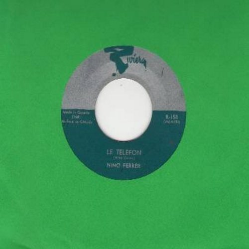 Ferrer, Nino - Je Cherche Une Petite Fille/Le Telefon (French Pressing, sung in French) - NM9/ - 45 rpm Records