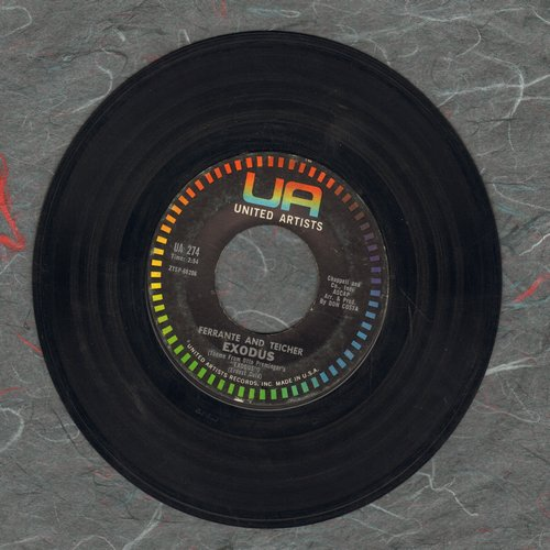 Ferrante & Teicher - Exodus/Twilight  - VG7/ - 45 rpm Records