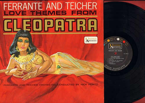Ferrante & Teicher - Love Themes From Cleopatra (Vinyl MONO LP record) - EX8/NM9 - LP Records