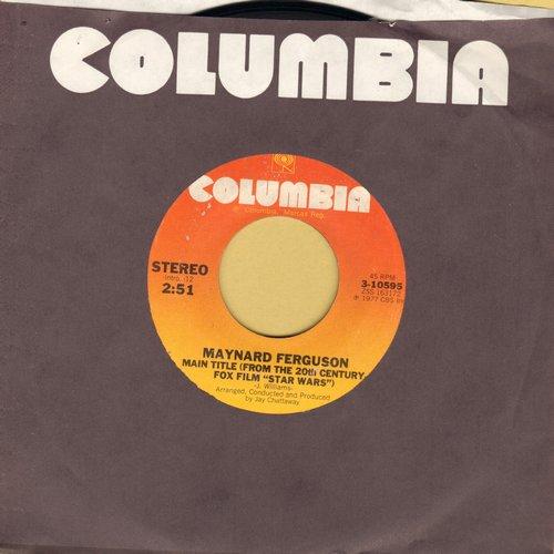 Ferguson, Maynard - Main Title Star Wars/Oasis - NM9/ - 45 rpm Records