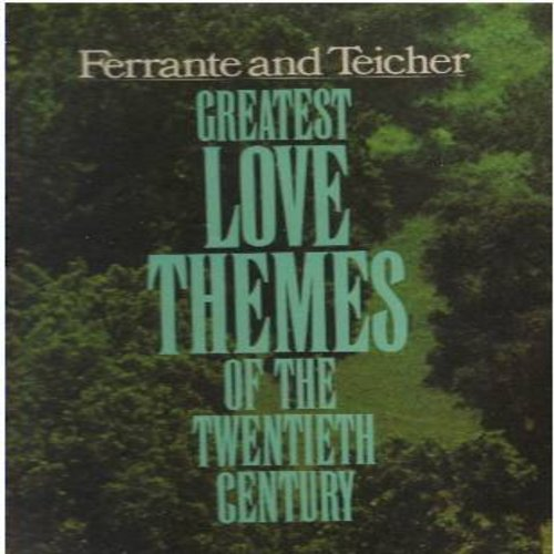 Ferrante & Teicher - Greatest Love Themes Of The Twentieth Century: When I Fall In Love, Always, The Man I Love, Love Is Blue, Love Me Or Leave Me (2 vinyl STEREO LP record set, gate-fold cover) - NM9/EX8 - LP Records
