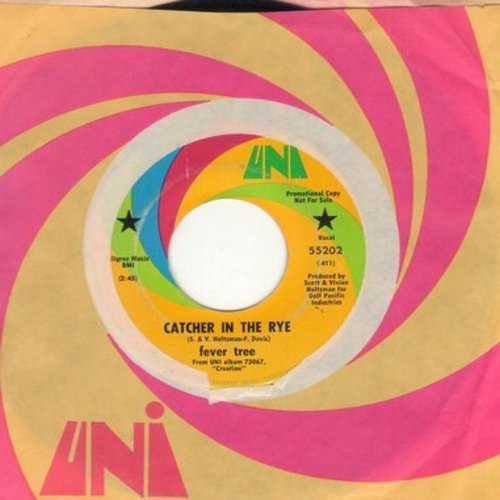 Feever Tree - Catcher In The Rye/What Time Did You Say It Is In Salt Lake City (DJ advance pressing with Uni company sleeve) - EX8/ - 45 rpm Records