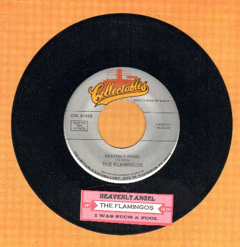 Flamingos - Heavenly Angel/I Was Such A Fool (re-issue with juke box label) - NM9/ - 45 rpm Records