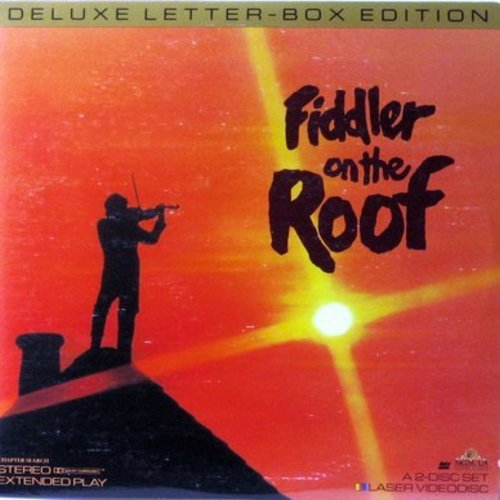 Fiddler On The Roof - Fiddler On The Roof - LASERDISC version of the Classic 1971 MGM Musical starring Topol (This is a set of 2 LASERDISCS, NOT ANY OTHER KIND OF MEDIA!) - NM9/EX8 - LaserDiscs