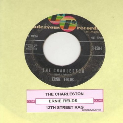 Fields, Ernie - The Charleston/12th Street Rag (with juke box label) - VG7/ - 45 rpm Records