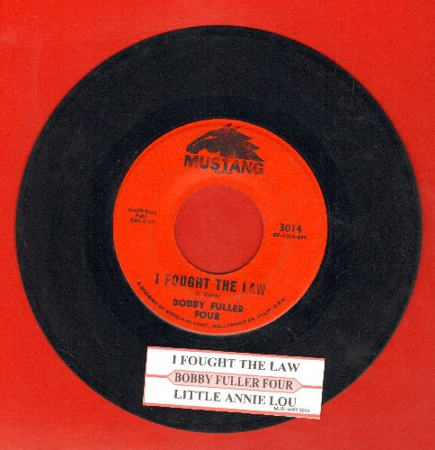Fuller, Bobby Four - I Fought The Law/Little Annie Lou (with juke box label) - VG7/ - 45 rpm Records