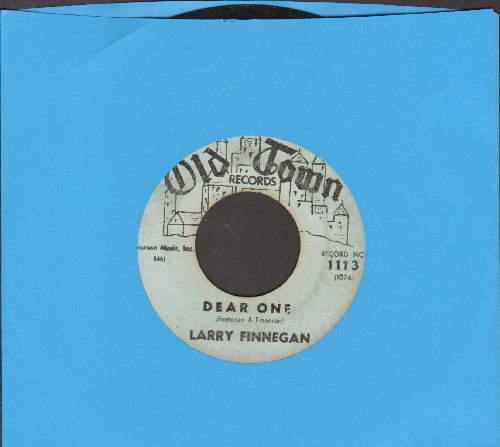 Finnegan, Larry - Dear One/Candy Lips (light blue label early pressing) - VG7/ - 45 rpm Records